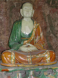 Statue of a Luohan